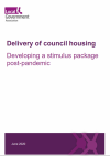 Delivery of council housing front cover
