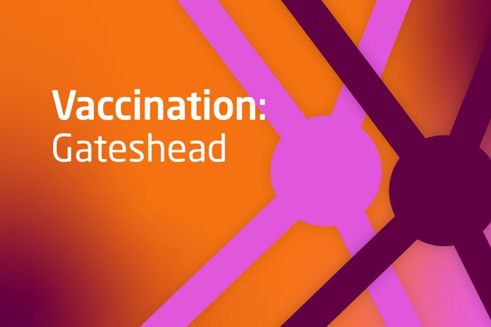 Decorative vaccination asset for Gateshead