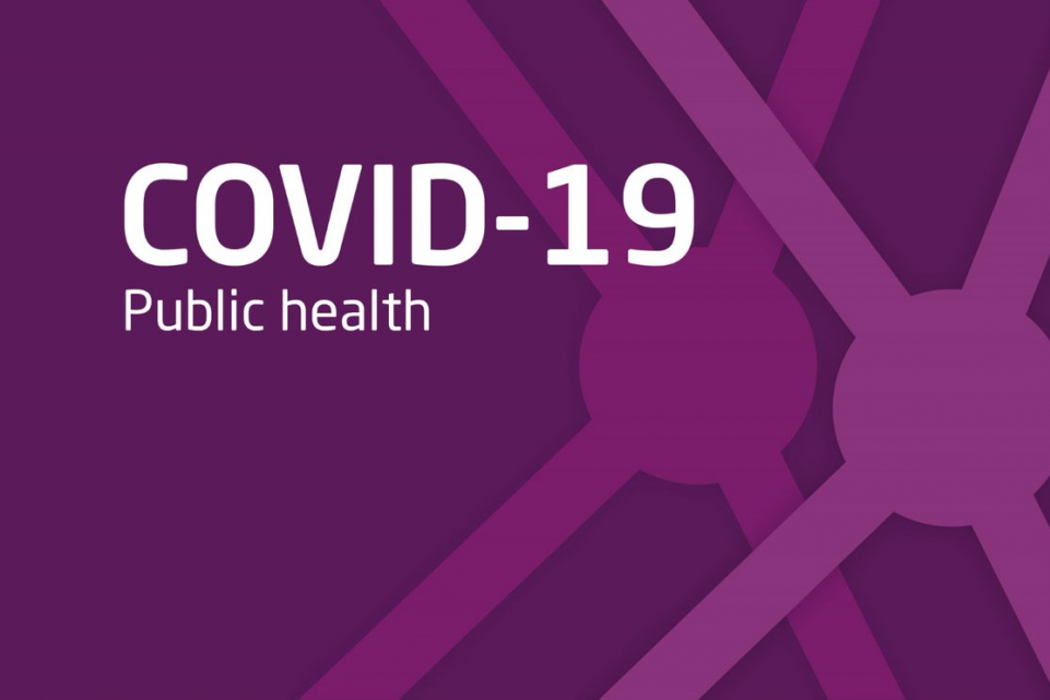 Public health support for COVID-19