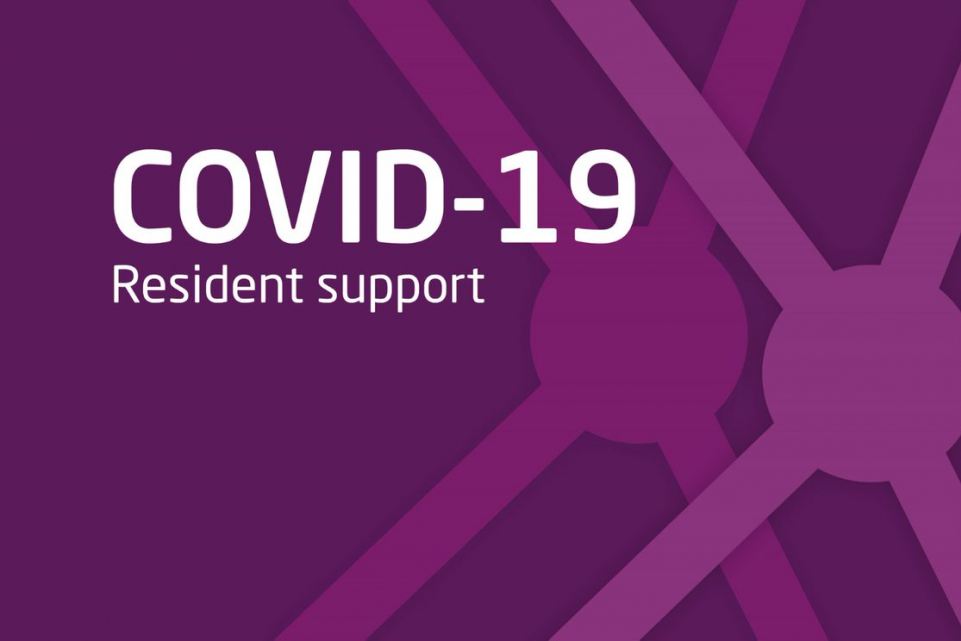 COVID-19: resident support