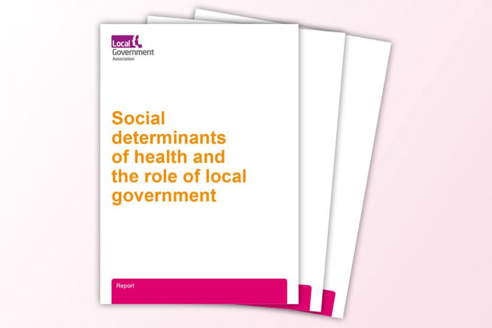 Social determinants of health and the role of local government image of covers